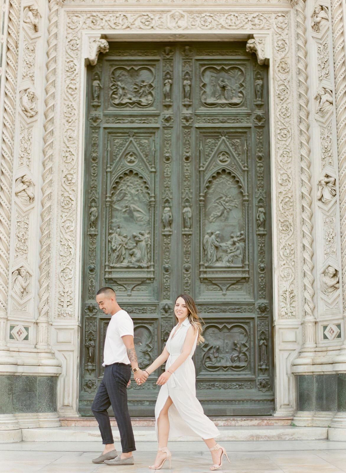 Florence, Italy Destination Engagement Portraits