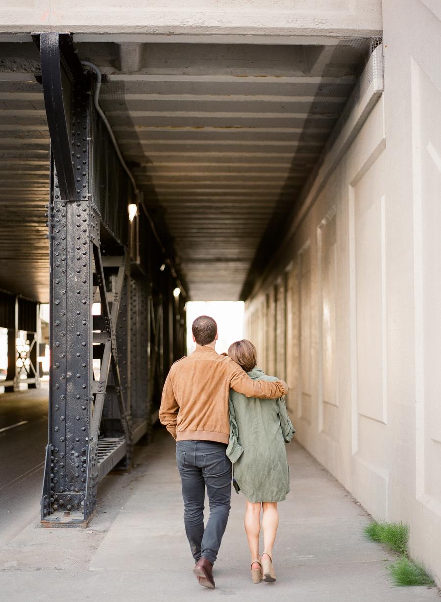 Distillery District Engagement   Amanda & Dom   photo: ARTIESE