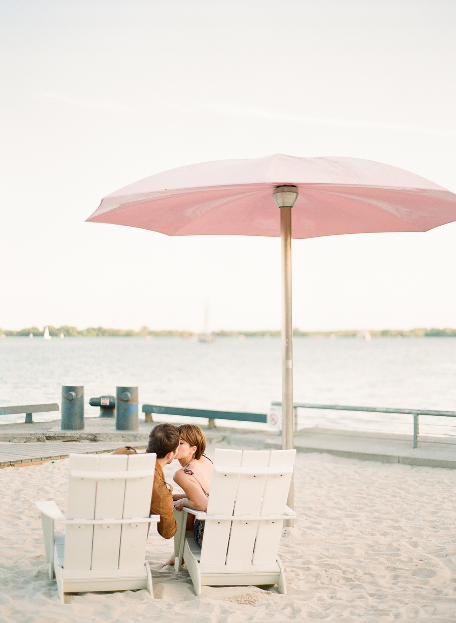 Sugar Beach Engagement   Amanda & Dom   photo: ARTIESE