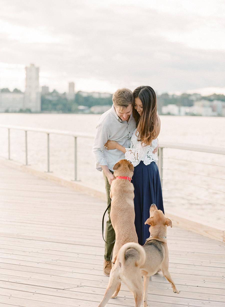 Riverside Park New York | New York Engagement | Allie & Eitan