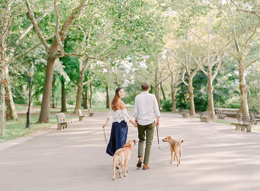 New York Engagement | Allie & Eitan